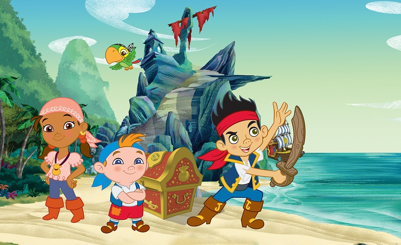 Disney Jake Pirate Character Wallpaper For Boys Amp Girls Room